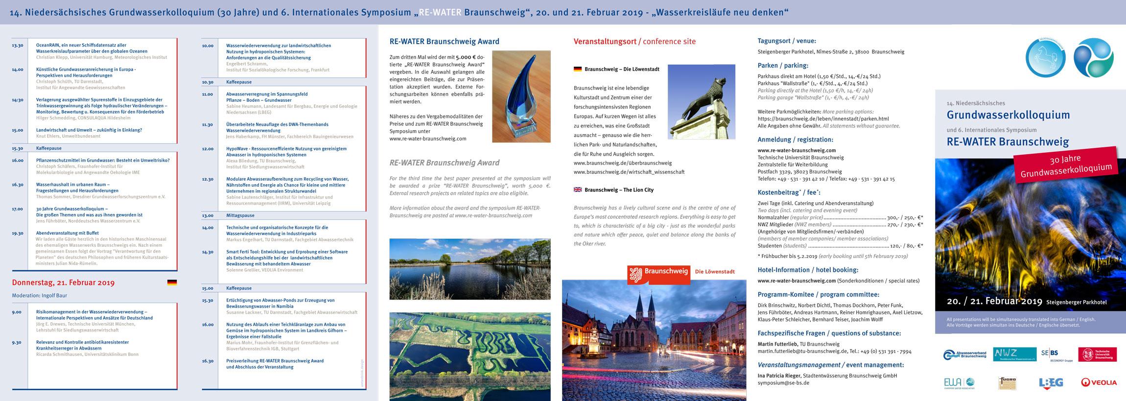 RE-WATER Braunschweig – Symposium 2019